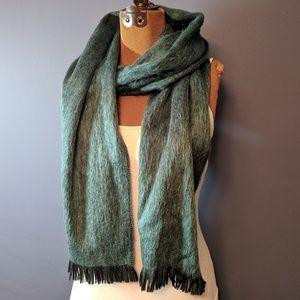 Shupaca brand alpaca blend scarf